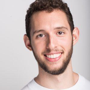 Adam Agostino smiling