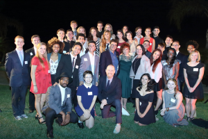 USC Kaufman students with William Forsythe