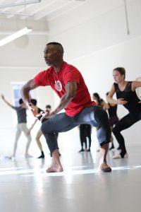 Desmond Richardson teaches USC Kaufman BFA Dancers