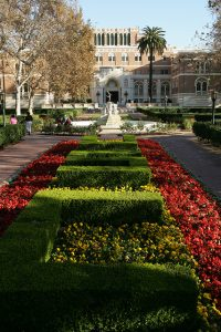 USC campus beauty
