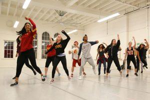 Dance minors at USC Kaufman