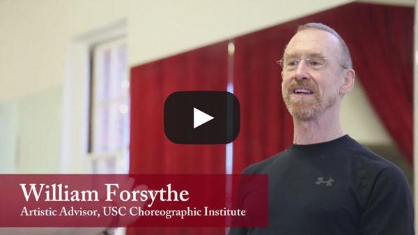 William Forsythe USC Kaufman Faculty Member