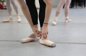 Ballet class at USC Kaufman