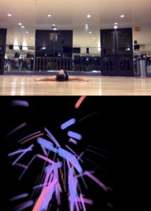 "Carolyn DiLoreto's interactive dance in ""Below"""