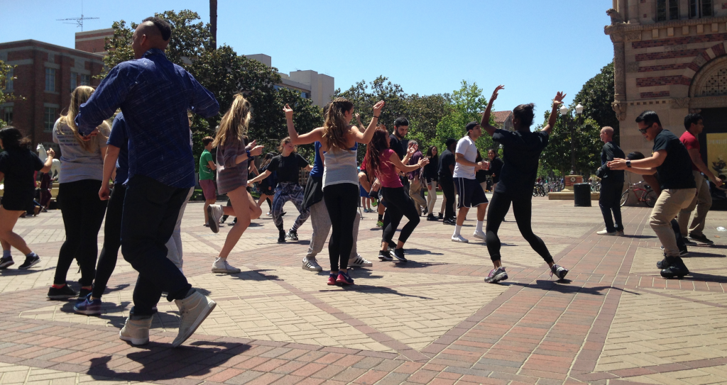 Dance Party at USC Campus