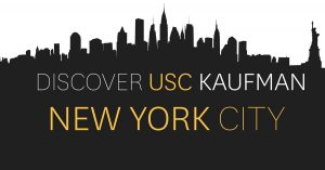 Discover USC Kaufman in New York City