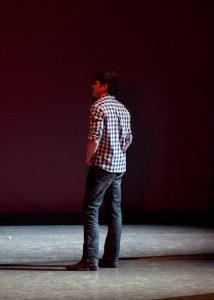 Lighting and scenic designer Michael Korsch | Photo by Rosalie O'Connor