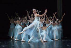 """George Balanchine's """"Serenade"""". Photo by Rose Eichenbaum"""