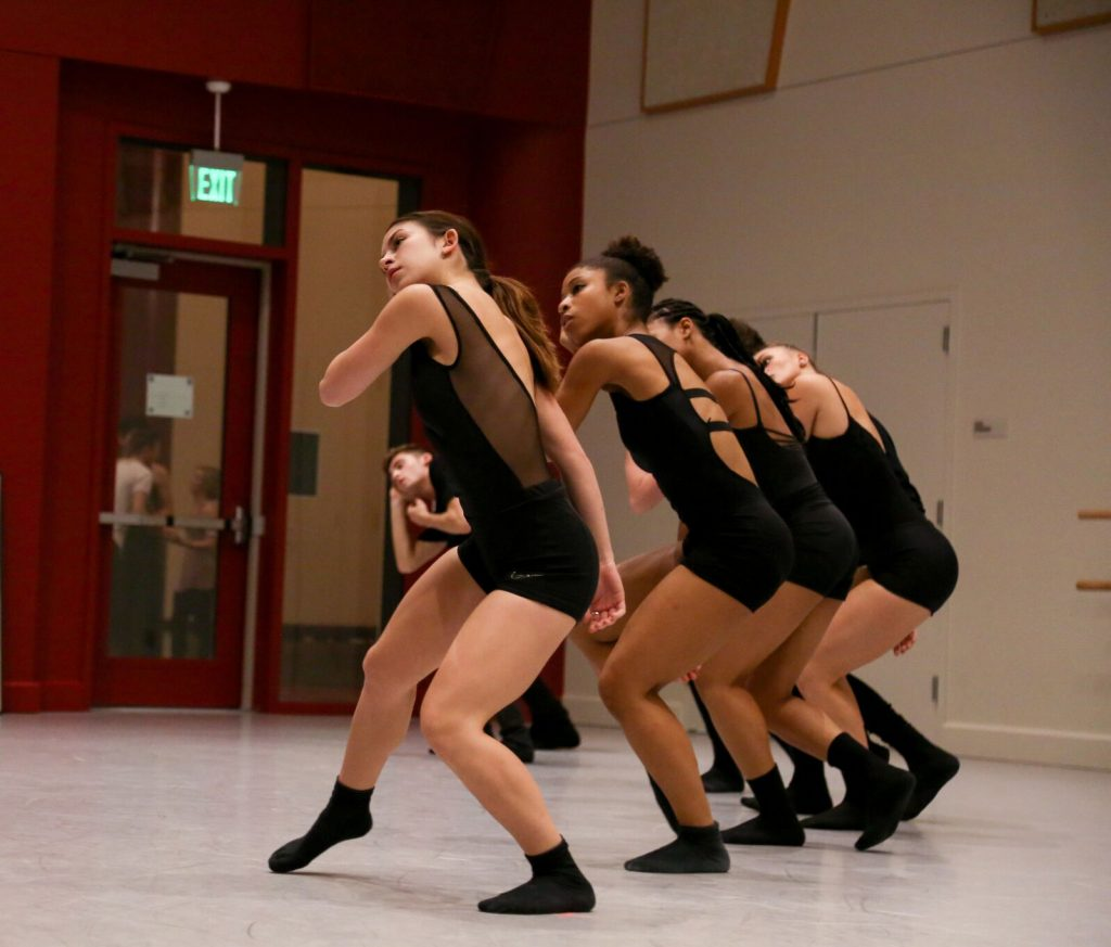 2016 Student Works Performance. Photo by Carolyn DiLoreto