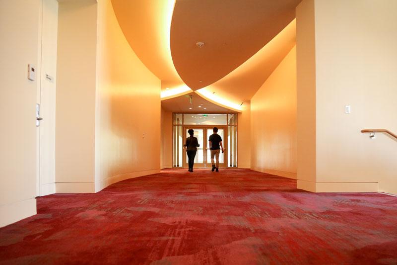 GKIDC hallway. Photo by Carolyn DiLoreto
