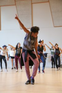 Hip Hop Conference at GKIDC. Photo by Carolyn DiLoreto