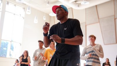 Hip Hop Conference at GKIDC. Photo by Mary Mallaney
