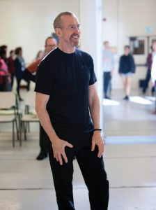 William Forsythe teaches BFA Students at USC. Photo by Rose Eichenbaum