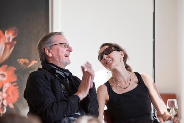 Jiří Kylián and Fiona Lummis   Photo by Studio Oostrum