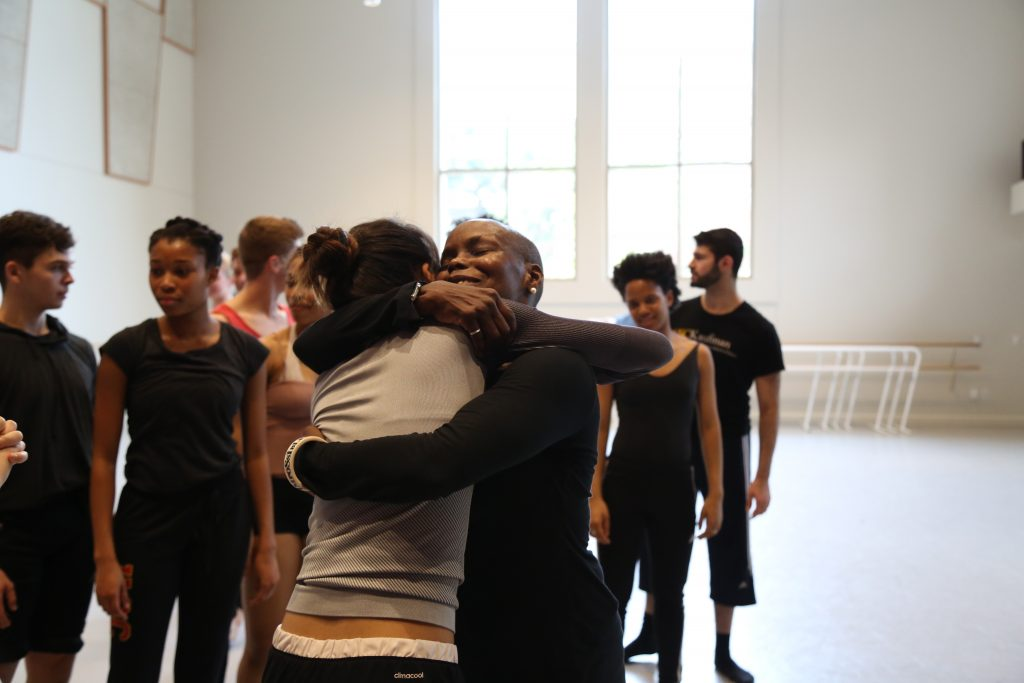 Hope Boykin after her master class at GKIDC. Photo by Mary Mallaney