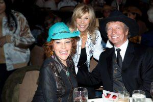 Glorya Kaufman, Anita Mann and Nigel Lythgoe.