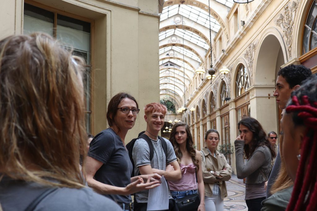 USC Kaufman Maymester in Paris at the Louvre