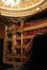 View from the stage at the Paris Opera. | Photo by Mary Mallaney