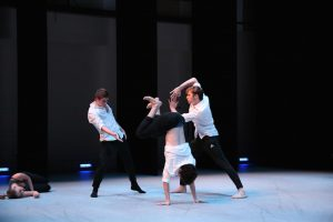 BFA Students in Choreographers & Composers Performance. Photo by Mary Mallaney