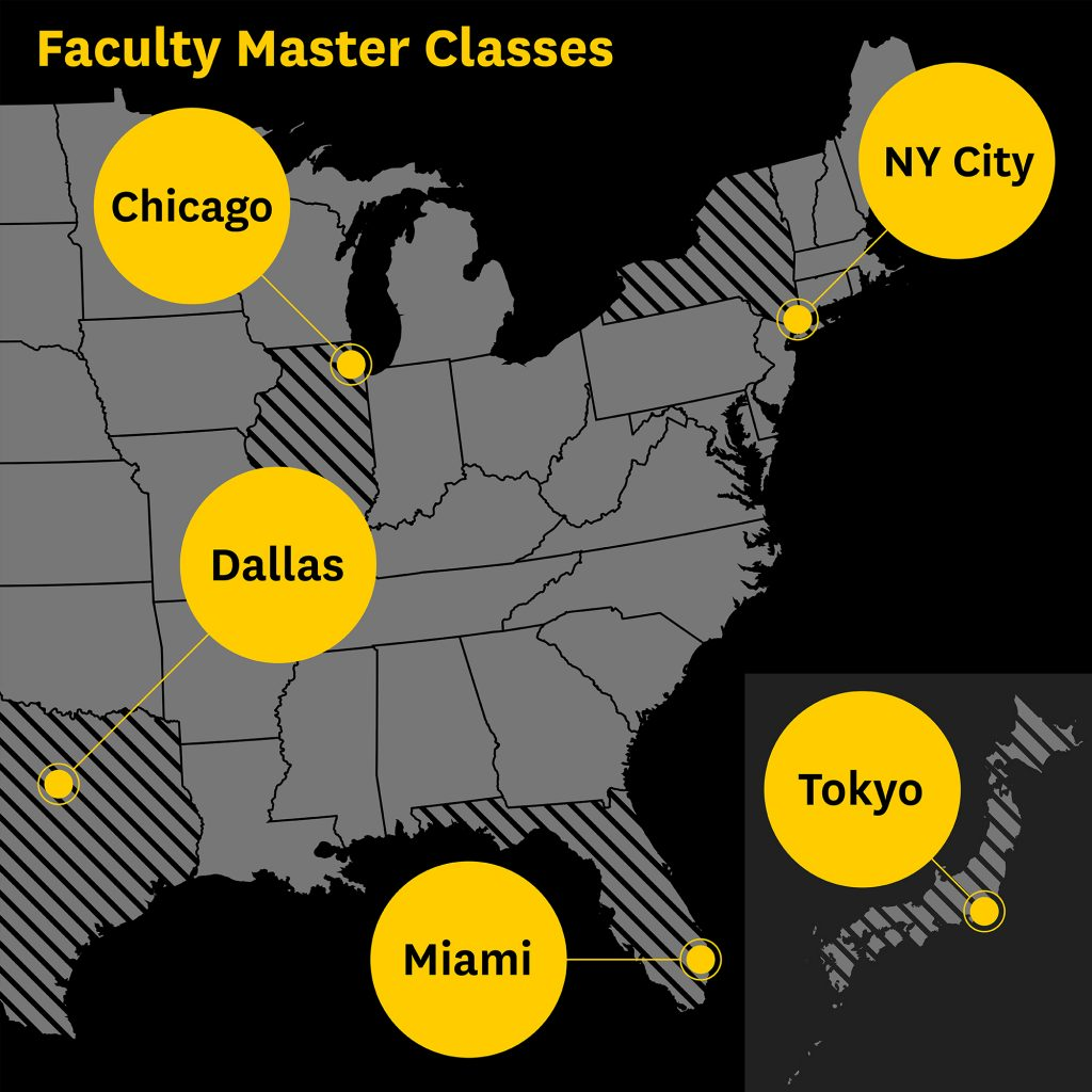 Faculty Master Classes 2017