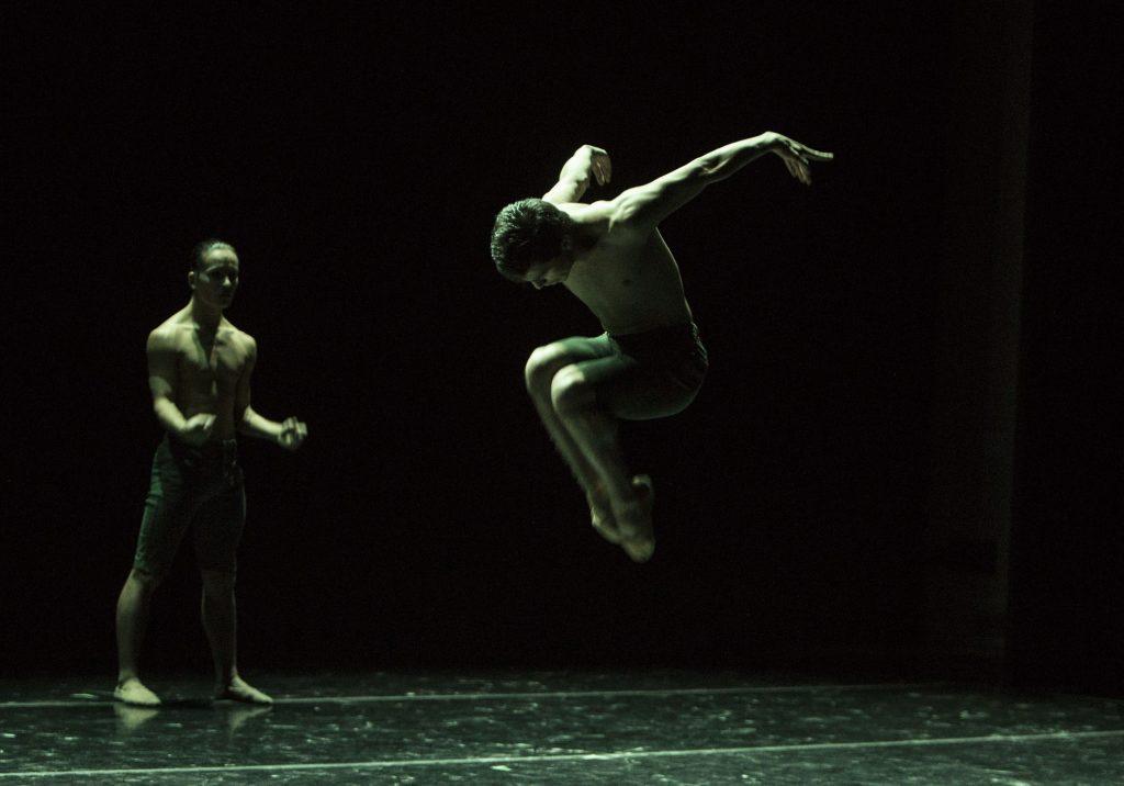 "BFA Students performing Dwight Rhoden's ""Gone."" | Photo by Rose Eichenbaum"