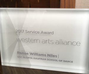 WAA Service Award
