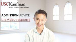 Admission Advice: Video Response