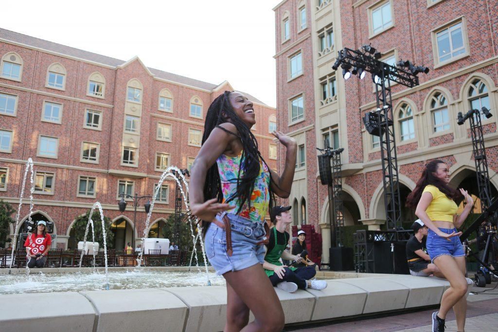 USC Village rehearsal