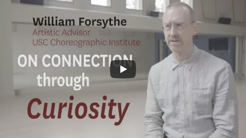 William Forsythe - Little Lecture