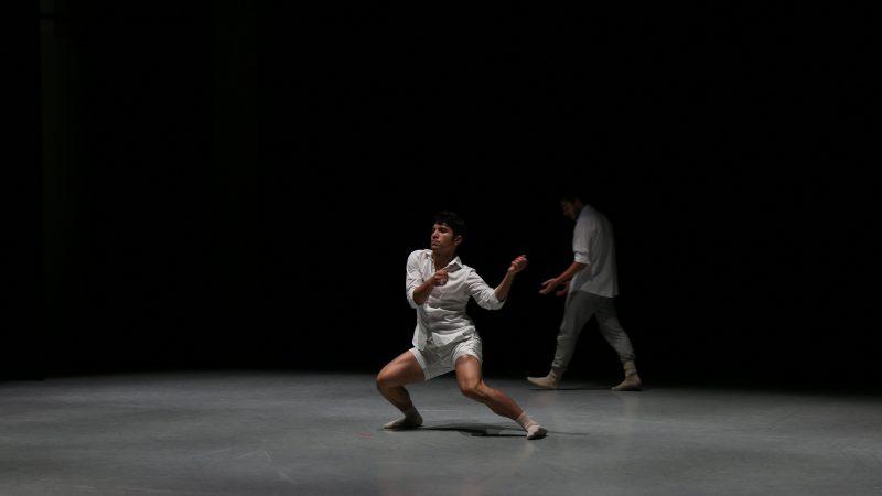 Dancer in white.