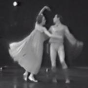 men dancing together