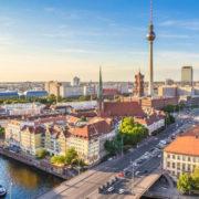Overlooking view of Berlin