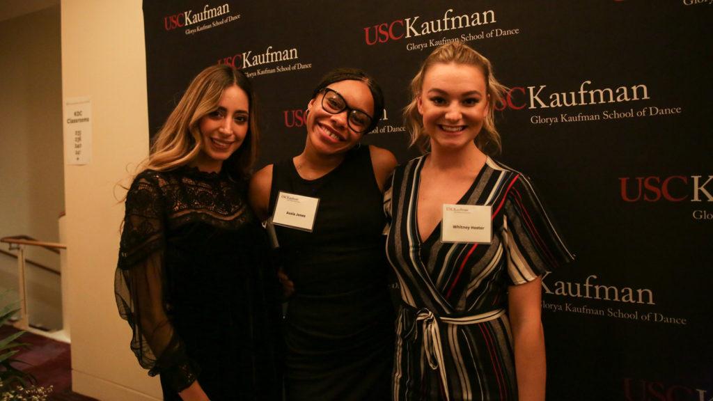 Mariana Carrillo, Ausia Jones and Whitney Hester