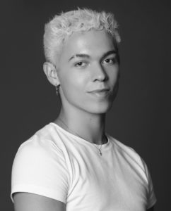 Black and white headshot of Camryn Pearson