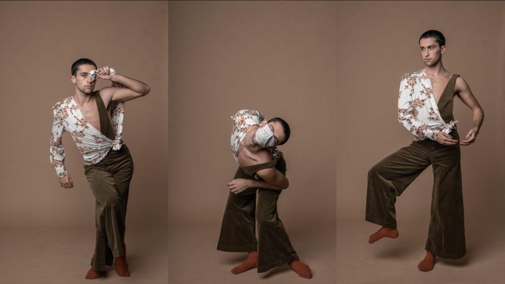 Collage of photos of Evan Sagedencky