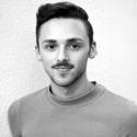 Black and white headshot of Matthew Perko