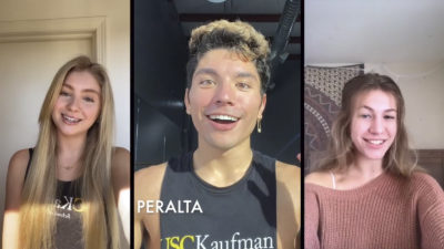 Collage of Jessalyn Ward, Benjamin Peralta and Haily Foster