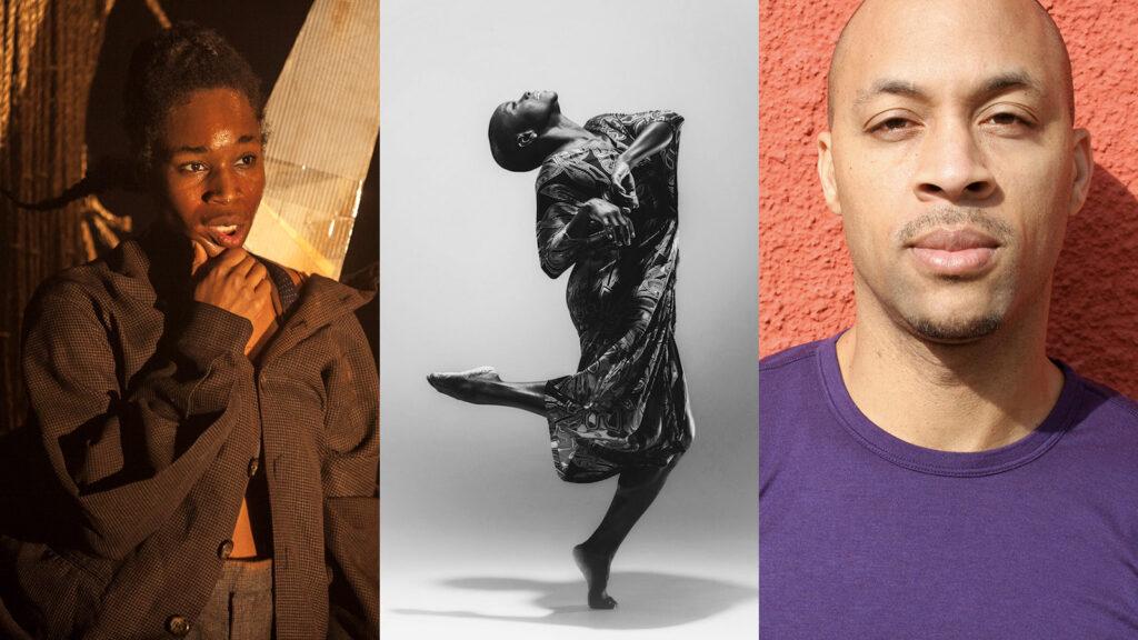 collage of vertical headshots of Marjani, Hope, and Sabela